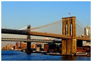 New-York. Brooklin Bridge