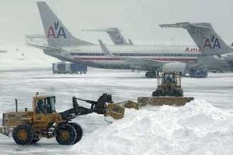 Aeropuertos cerrados en Nueva York