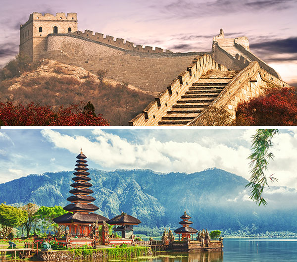Viaje China - Bali