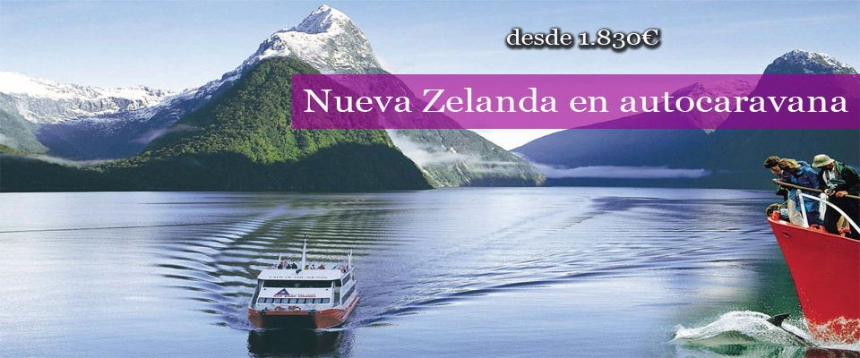 Nueva Zelanda en caravana