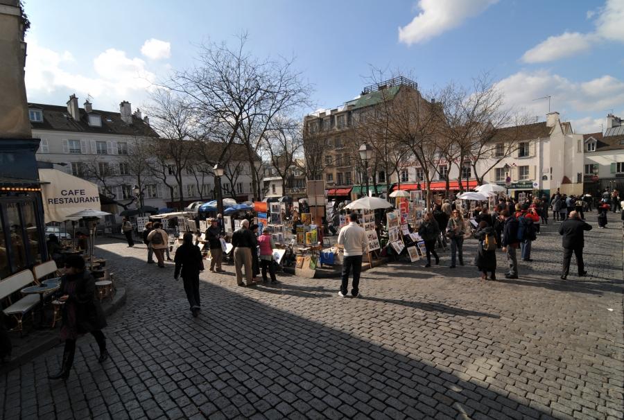 Plaza-de-montmartre
