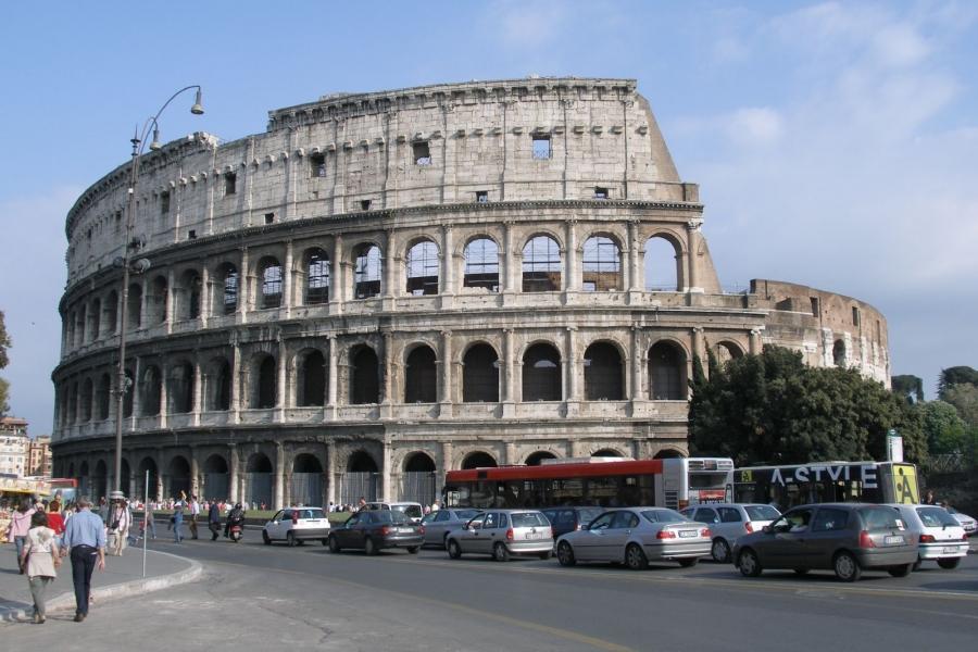 Qué ver en Roma en 4 días. coliseo-romano