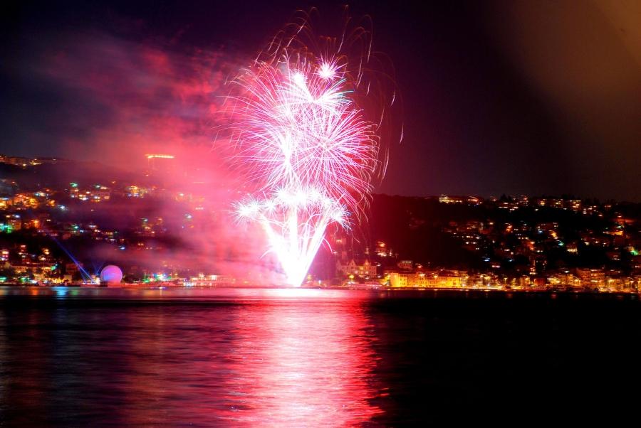 Nochevieja entre dos continentes (Estambul)