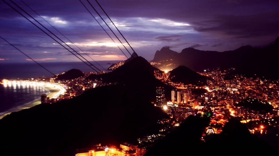 Nochevieja en Copacabana (Río de Janeiro)