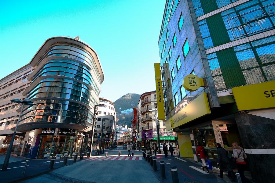 Viaje de compras en Andorra.