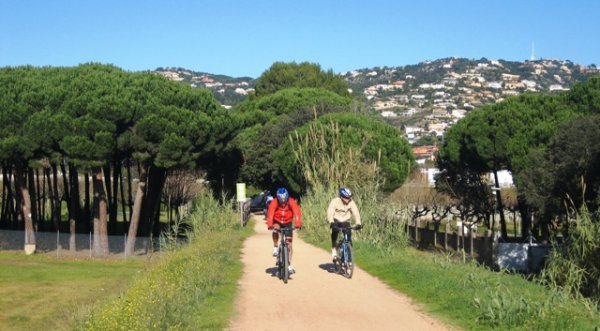viaje en bici Pirineo-Costa Brava