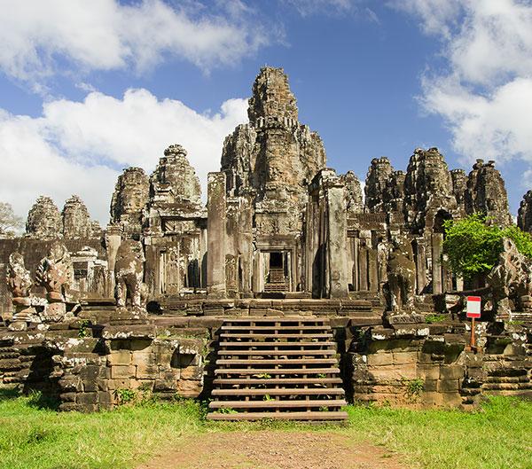 Ruta Angkor, Phnom Penh y playas de Camboya