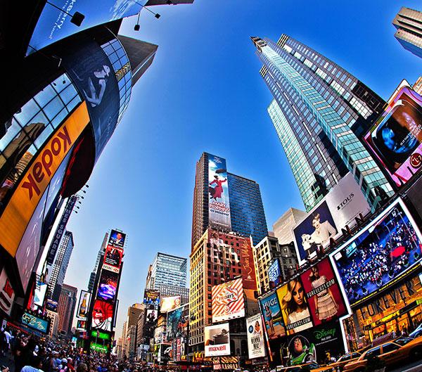 Ruta por Nueva York y Costa Este en coche