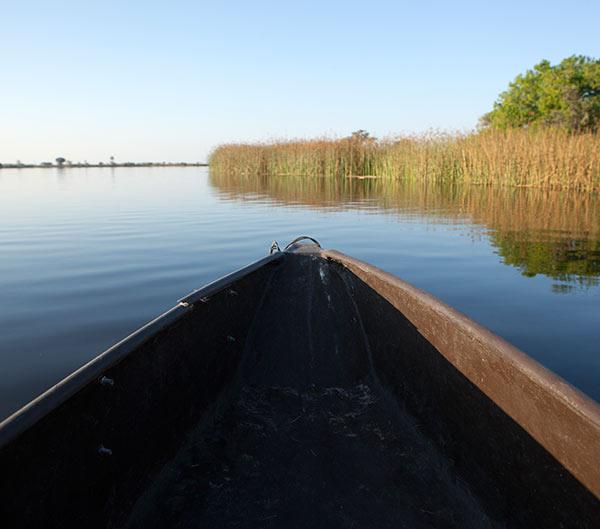 Botswana, ruta de los tres ríos